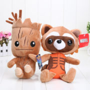 22-25cm-Guardians-of-the-Galaxy-plush-doll-Tree-people-groot-rocket-raccoon-plush-Children-s
