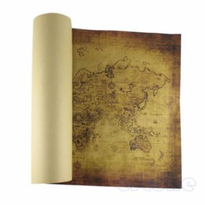 the-world-map-vintage-style-retro-home-decor-wall-decals-paper-poster-wall-decor