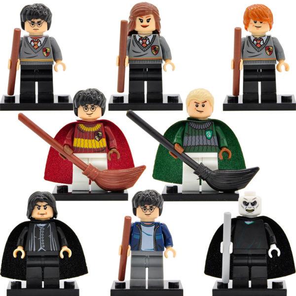 xinh-harry-potter-minifiguren-malfidus-hermelien-ron-lord-voldemort-sneep-8-stks-partij-bouwstenen-sets-modellen