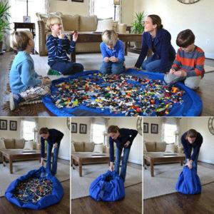 Verpakking-loz-blokken-Draagbare-Kinderen-Baby-baby-Speelmat-Grote-Opslag-Speelgoed-Organizer-Deken-Deken-Dozen-voor